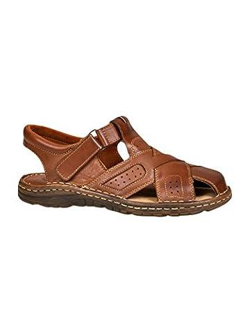 Chaussures Confortables Une Forme Orthopedique Des Sandales En Cuir Naturel
