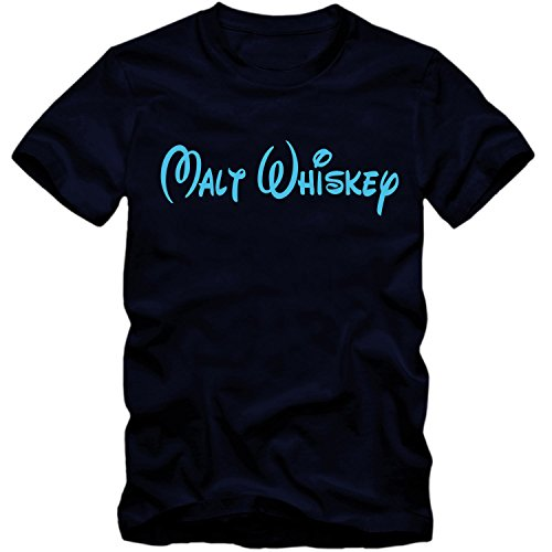 T-Shirt Malt Whiskey Whisky Walt Fun Shirt Tee Disney inspired S-4XL NEU, Farbe:schwarz;Größe:L - 4