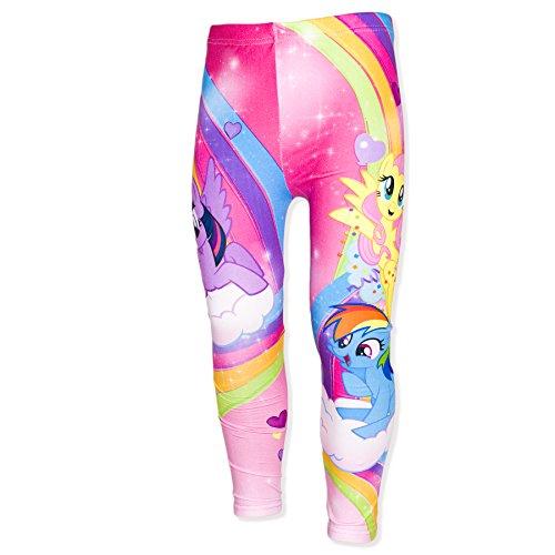 official-hasbro-licensed-my-little-pony-girls-leggings-jeggings-multicoloured