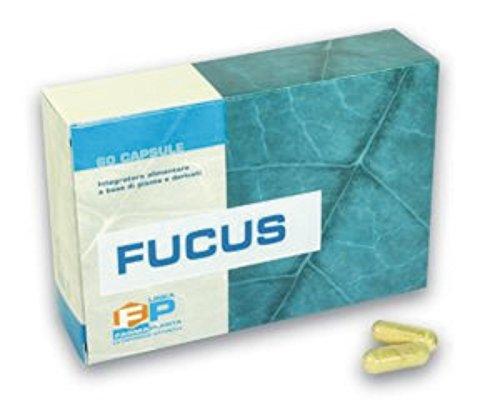 Concentrato puro di Fucus bruciatore di grassi 60 capsule 100% vegetali A base di iodio assimilabile, utile come starter nelle diete ipocaloriche.