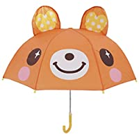 LinZX Long Handle Rain umbrella for kids 3D Cat Frog Animals print Cute children umbrella for boy girl sun protection Student Umbrella