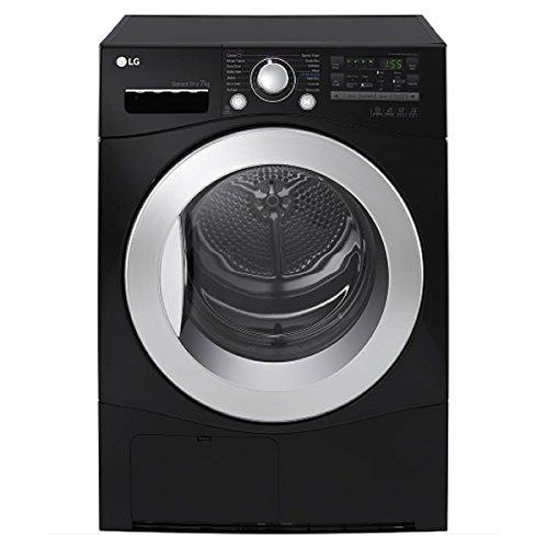 Lg Tumble Dryer Black ~ Lg rc b z kg freestanding sensor condenser tumble