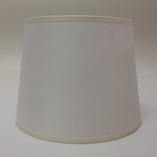 25,4 cm Empire Ivoire Tissu de coton Abat-jour lumière Abat-jour Table fait à la main.