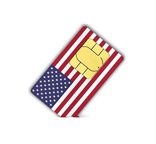 Lyca Mobile USA SIM Karte (1 GB Internet + Festnetz Flat EU) Usa Mobile