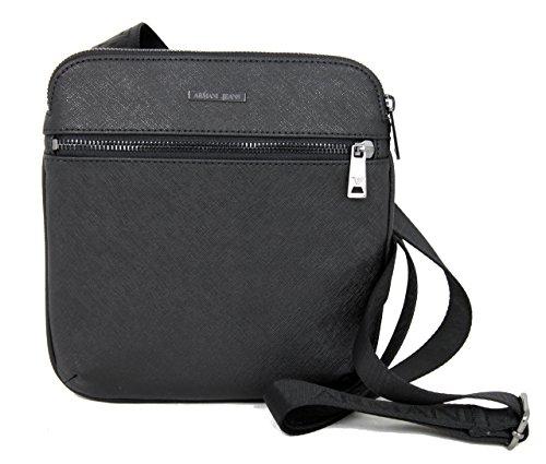Preisvergleich Produktbild Armani Jeans Tasche Messenger Umhängetasche Bag 0622Z schwarz