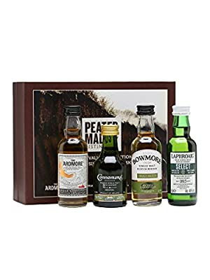 Laphroaig - Peated Malts of Distinction Miniature Collection Gift Pack