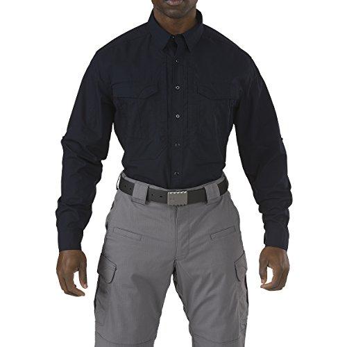 5.11 Uomo Stryke Camicia Manica Lunga Navy Scuro