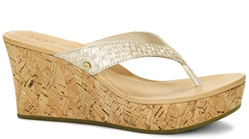 UGG - NATASSIA METALLIC BASKET -1011000 - soft gold metallisch