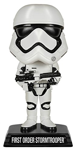 FunKo FK6239 - Wacky Wobblers Star Wars Episode VII The Force Awakens - First Order Stormtrooper Wackelkopf, 15 ()