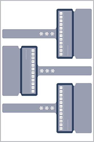 Avery 62006 Rectángulo Blanco 12pieza(s) - Etiqueta autoadhesiva (Blanco, Rectángulo, Poliéster, 97 mm, 54 mm, 12 pieza(s))