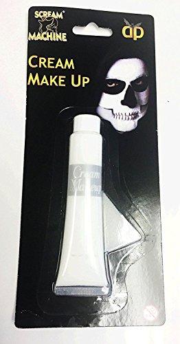 Halloween vernice bianca viso corpo trucco in tubo clown vampiro ghost travestimento