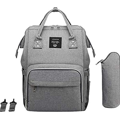 Snakell Wickeltasche Rucksack - Multi-Funktions-wasserdichte Mutterschaft Wickeltaschen für Reisen mit Baby - Große Kapazität, Langlebig und Stilvoll Babytasche aus Für Mama