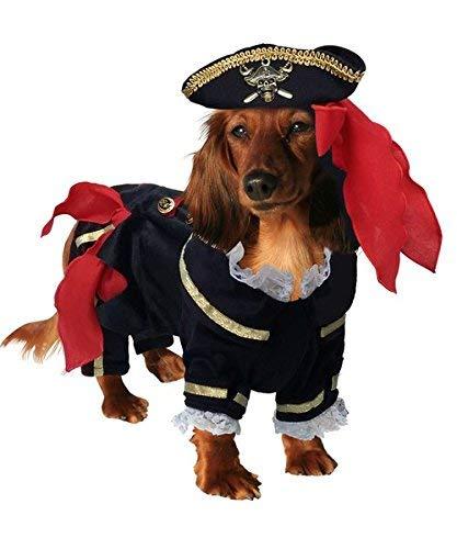 Einfach Männliche Piraten Kostüm - Puppe Love Buccaneer Deluxe Piraten Kostüm