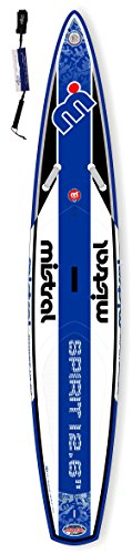 Mistral Spirit Touring-Race 12'6 Standup Paddel Board aufblasbar inkl. SUPwave.de Coil-Leash, Stand up Paddle Board iSUP