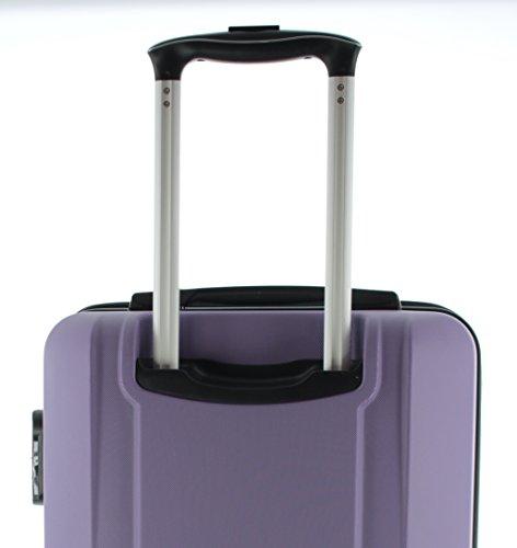 Pianeta / Boston Trolley maleta de viaje equipaje de mano maleta, Maleta rígida, Material de 100% ABS, 4 ruedas