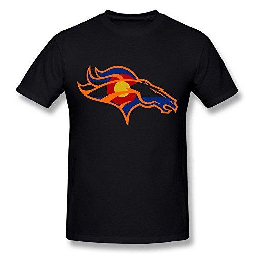 Triumph turn Men's Denver Broncos Colorado Flag Rugby Black T Shirt par  Triumph
