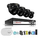 2CH 4CH 6CH 8CH 1080P POE CCTV-Kit Überwachungskamera-System Videoüberwachungskit IP-Kamera NVR HDMI HD P2P 2MP Außen Wetterfest IR-Cut Mit Festplatte (optional)