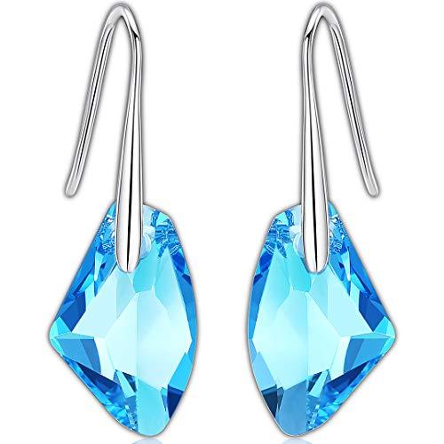 3a7402d9642a Swarovski Pendientes - Aretes de Plata Fina 925 para Mujeres con Cristales  Swarovski de GoSparkling