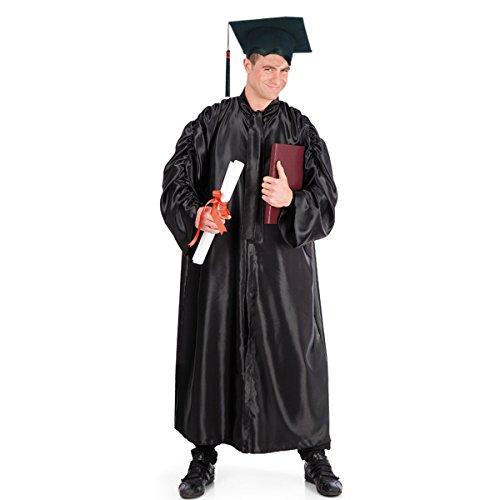 Toga nera laureato o corista extra lusso coro dottore laurea avvocato corale