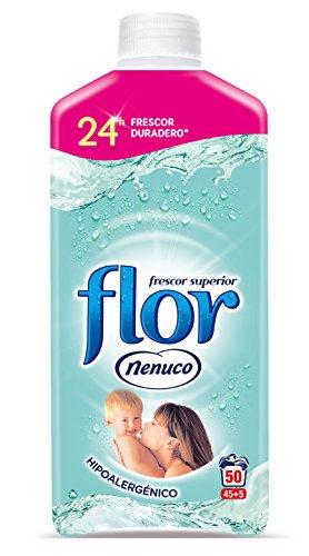Flor Nenuco - Suavizante para la ropa concentrado - Hipoalergénico, 1100 ml
