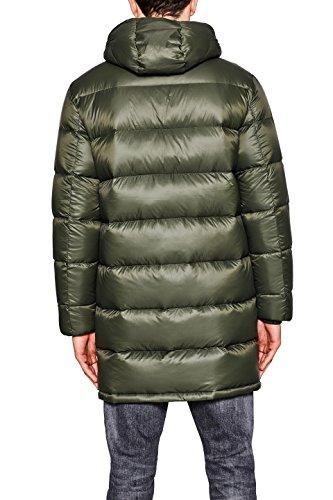ESPRIT Herren Mantel Grün (Dark Green 300)