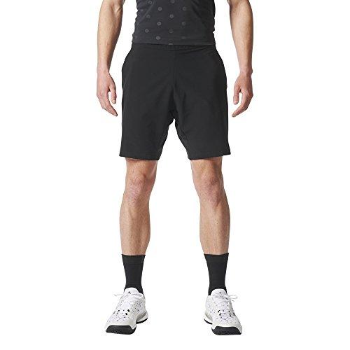 adidas Herren London Shorts, Black, S (Adidas Schwarzes Tennis-tasche)