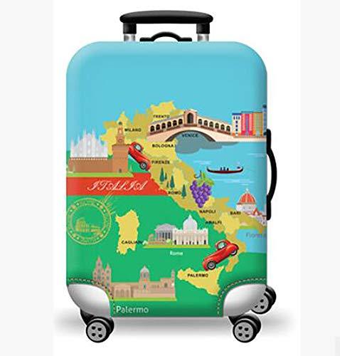 c87260a6e2 TINE Addensare Copertura per valigie Custodia da Viaggio Antipolvere  Copertura Cover Trolley Caso Elastico Manica Poliestere