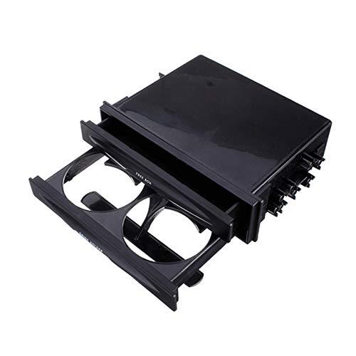 PerGrate Universal Car Doppel-Din Radio Pocket Kit mit Getränk-Cup Holder Aufbewahrungsbox -
