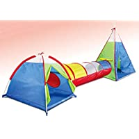 Kidodo 3 in 1 pop up tent kids tunnel play tent with tunnel outdoor toddler