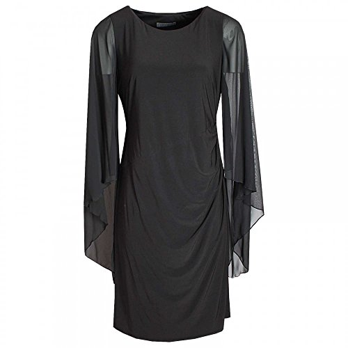 Michaela Louisa Long Floating Sleeve Shift Dress