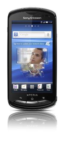 Sony Sony Ericsson Xperia pro Smartphone (9.4 cm (3.7 Zoll) Tochscreen, 8.1 Megapixel Kamera, Android 2.3 OS, 1GB Speicher) schwarz