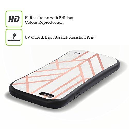 Offizielle Elisabeth Fredriksson Geometrie 3 Art Deco Kollektion Hybrid Hülle für Apple iPhone 5 / 5s / SE Geometrie 4