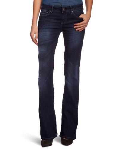 G-STAR Damen Boot-Cut Jeans 3301 Bootleg Wmn, W28/L32, Blau (dk aged 89)