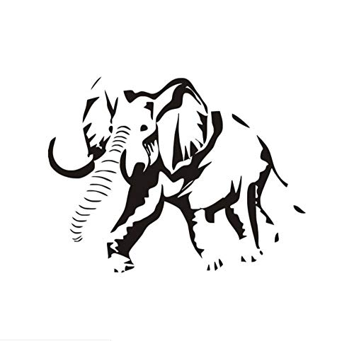 st das Herzstück der Medizin Wandaufkleber Notizen Holzbrett Dekoration Wohnzimmer Musiknoten Wandtattoo heiß, Elefant ()