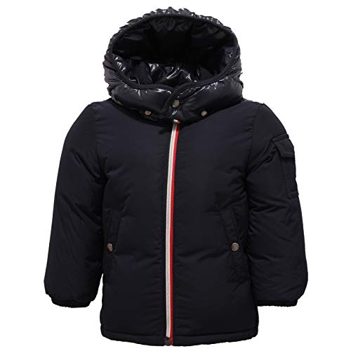 Moncler 9842z piumino bimbo boy jonquieres blue jacket [18/24 months]