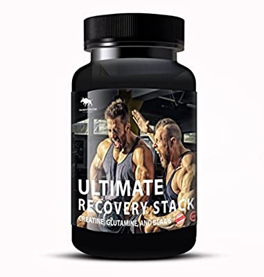 Ultimate Recovery Stack Creatine, Glutamine and BCAA's Much Faster Relaxation, after every workout. by Taurentor.com Series 9