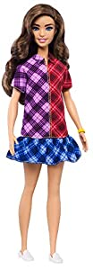 Barbie Fashionista Muñeca con El Pelo Moreno y Largo (Mattel Ghw53)