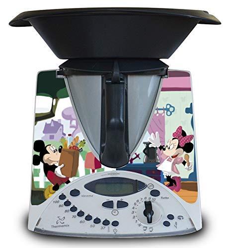 Vinilo para Thermomix TM31 de Juguete (niños) Modelo Mickey Minnie