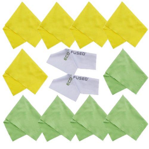 Paños Limpieza Microfibra Eco-Fused - Paquete 12