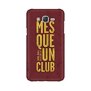 Mobicture Barca Premium Printed High Quality Polycarbonate Hard Back Case Cover for Samsung J5 2016 With Edge to Edge Printing