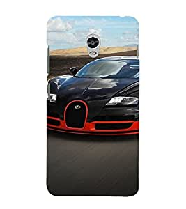 Vizagbeats Sports Car Back Case Cover for Lenovo Vibe P1