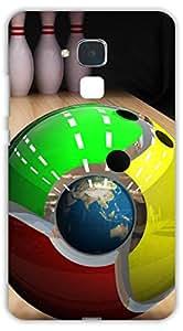 Crazy Beta bowling balls of Google chrome logo hd design Printed mobile back cover case for Huawei Honor 5c