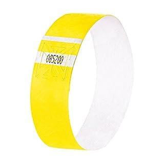 SIGEL EB213 Eventbänder Super Soft, neon gelb, 120 Stück - viele Farben