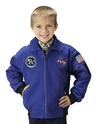 Aeromax Kostüm - NASA Apollo 11 Kids Flight Jacket Small