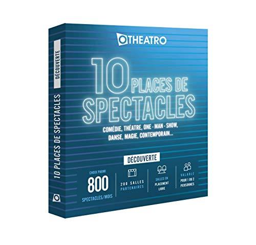 Otheatro Coffret 10 Places de Spectacles Découverte – 200 salles Partenaires
