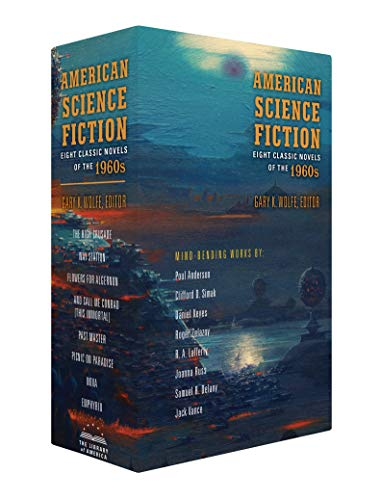 American Science Fiction: Eight Classic Novels of the 1960s 2C BOX SET: The High Crusade / Way Station / Flowers for Algernon / ... And Call Me Conrad ... / Nova / Emphyrio (Library of America) (Das Way Station)