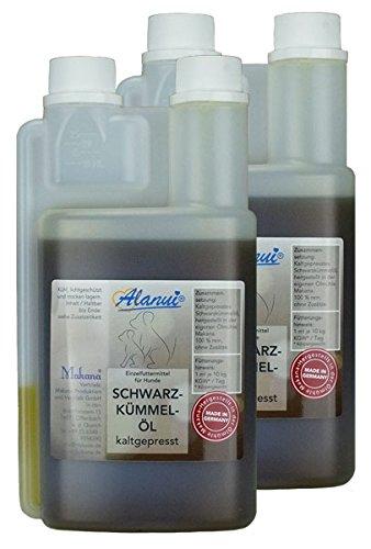 alanui Schwarzkümmelöl in der praktischen Dosierflasche, 2er Pack (2 x 500 ml)