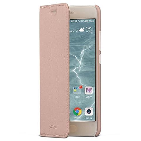 Huawei P10 Flip Case Rose Gold - CASEZA