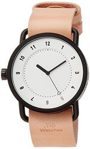 [eingearbeitete] Tid Uhren Designer mit Watch spezielle Neuheit Tasche wird mit einem Verlängerte Garantie tid01-36WH/N Tote [Regular Importware]