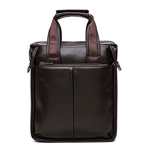 L'uomo D'affari Bag Borsa Tracolla Messenger Uomini Borsa Zaino Da Uomo Casual Brown